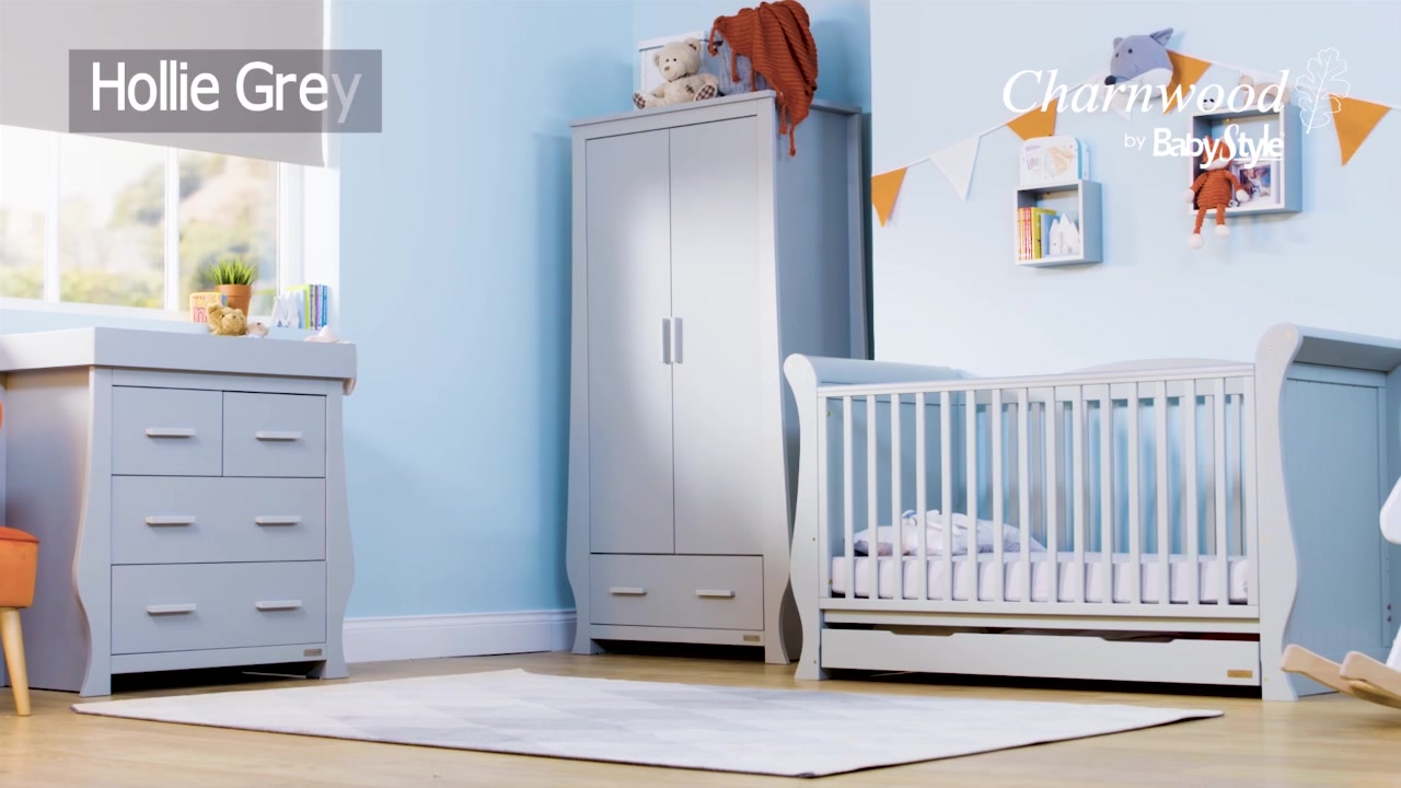 BabyStyle - Charnwood Hollie room set in Grey