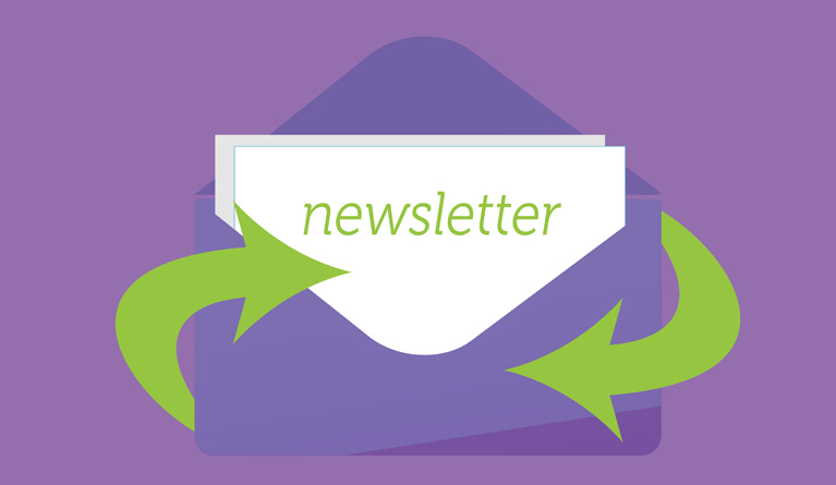 Newsletters for hospital professionals